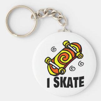 I Skate Key Chain