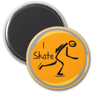 I Skate T-shirts and Gifts 2 Inch Round Magnet