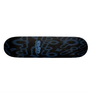 I skateboard