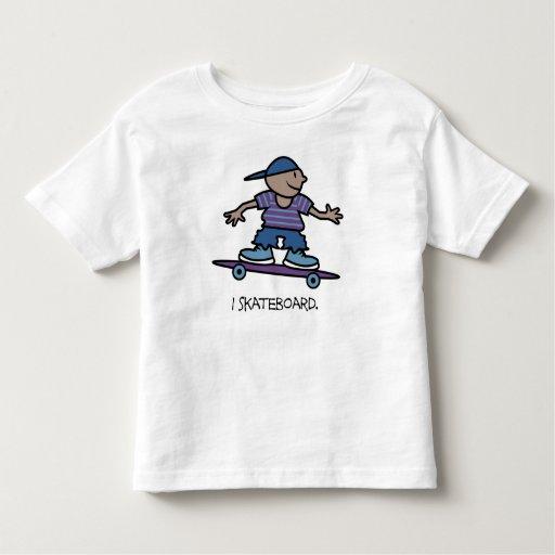 I Skateboard Kids Shirt