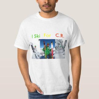 I SKI FOR CR (RASTA) T-Shirt