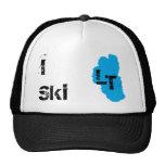 I Ski Lake Tahoe Trucker Hats