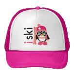 I Ski Penguin Trucker Hat