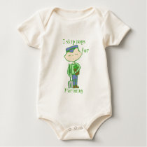 i skip naps for farming baby clothes baby bodysuit