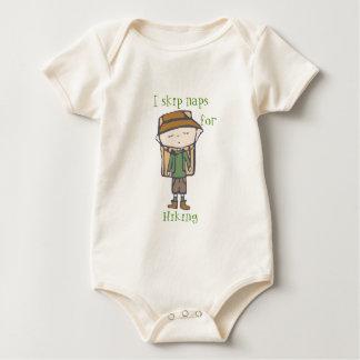 i skip naps for hiking baby bodysuit