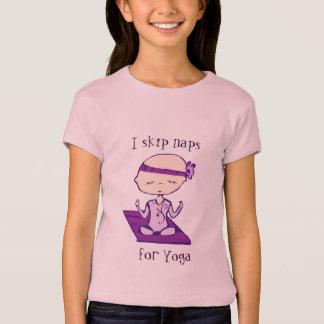 i skip naps for yoga T-Shirt