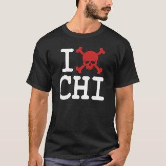 """I """"Skull"""" CHI T-Shirt"""