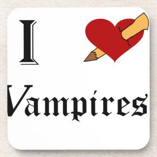 I Slay Vampires Drink Coaster
