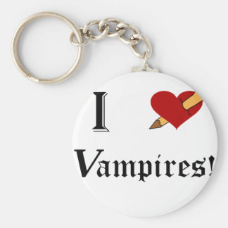 I Slay Vampires Keychain