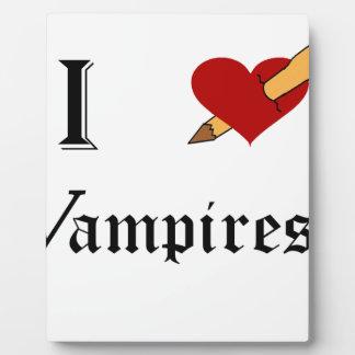 I Slay Vampires Photo Plaques