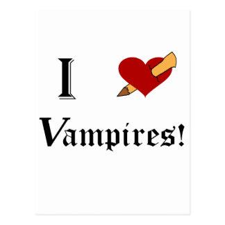 I Slay Vampires Postcard