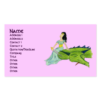 I SLAYED THE DRAGON - PRINCESS profile card
