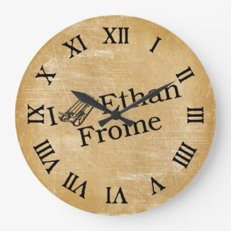 I Sled Ethan Frome Wall Clocks