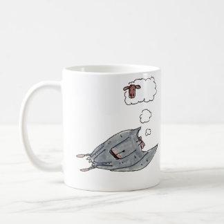 I sleep peacefully coffee mug