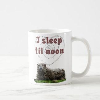 I Sleep Til Noon Coffee Mug
