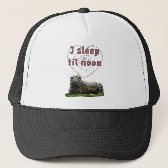 I Sleep Til Noon Trucker Hat