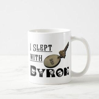 I Slept with Byron Coffee Mug
