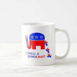 I Smell A Democrap Coffee Mug