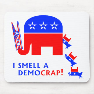I Smell A Democrap Mouse Pad
