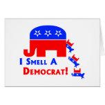 I Smell A Democrat Greeting Card