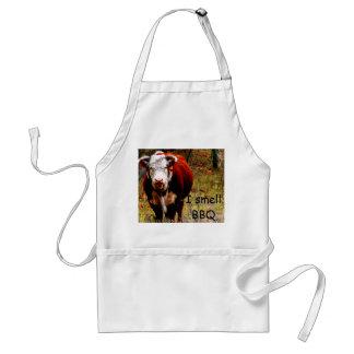 I smell BBQ apron