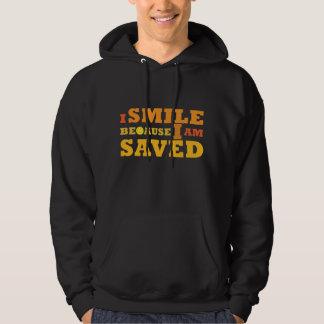 I Smile Because I am Saved Christian hoodie