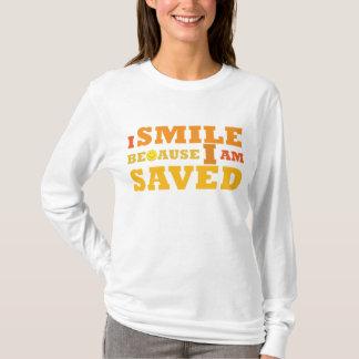 I Smile Because I am Saved lady's Christian hoodie
