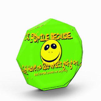 I SMILE BECAUSE...V1 AWARDS