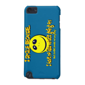 I SMILE BECAUSE...V1 iPod TOUCH (5TH GENERATION) COVER