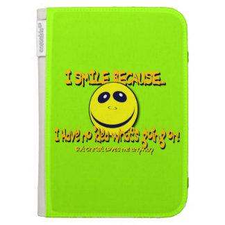 I SMILE BECAUSE...V1 KINDLE FOLIO CASES