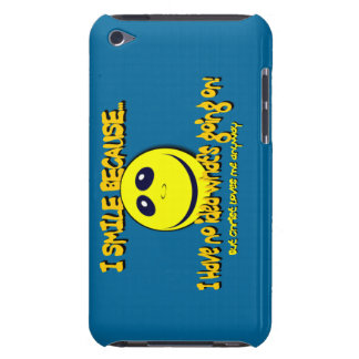 I SMILE BECAUSE...V1 iPod TOUCH COVER