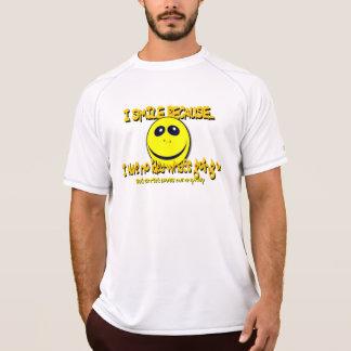 I SMILE BECAUSE...V1 T-Shirt