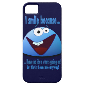 I smile because...V2 iPhone 5 Cover