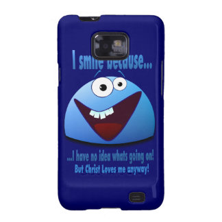 I smile because...V2 Galaxy S2 Cover