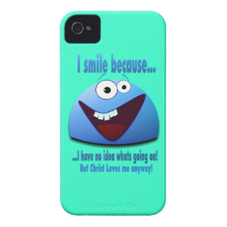 I smile because...V2 iPhone 4 Covers