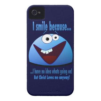 I smile because...V2 iPhone 4 Case-Mate Case