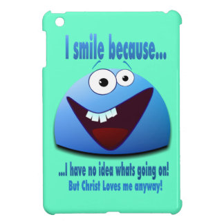 I smile because...V2 Cover For The iPad Mini