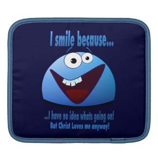 I smile because...V2 iPad Sleeves