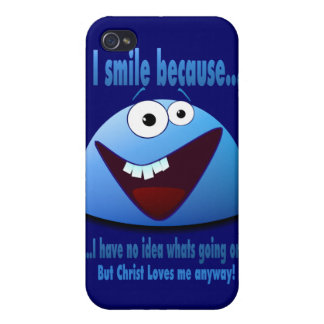 I smile because...V2 iPhone 4 Cover