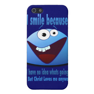 I smile because...V2 Cover For iPhone 5