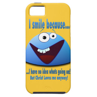 I smile because...V2 iPhone SE/5/5s Case