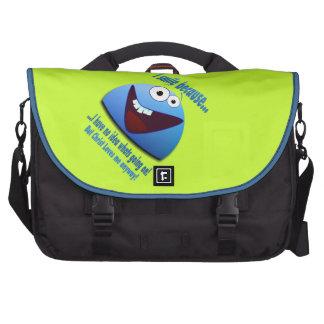 I smile because...V2 Laptop Computer Bag