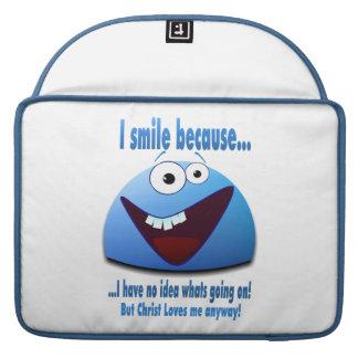 I smile because...V2 Sleeves For MacBook Pro