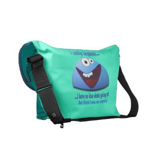 I smile because...V2 Messenger Bags