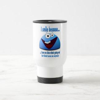 I smile because...V2 Coffee Mugs