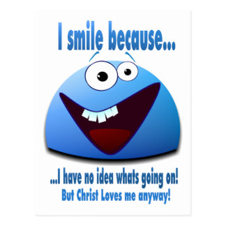 I smile because V2 Post Cards