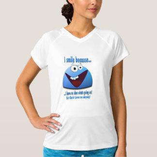 I smile because...V2 Tee Shirt