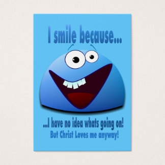I smile because...V2 Tract Cards /
