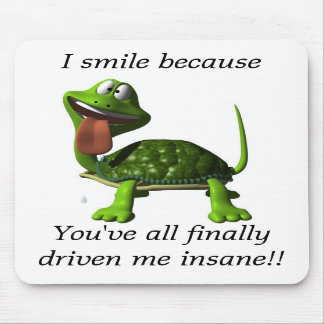 I Smile Mousepad
