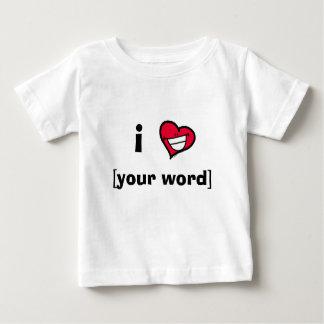 I Smiley Heart Baby T-Shirt